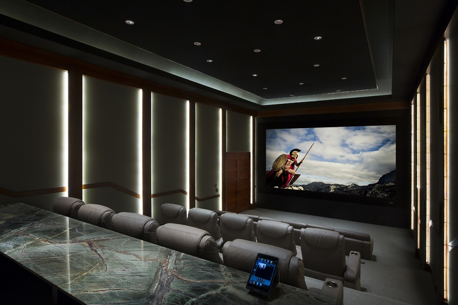 A Private Cinema Brings the Magic Of The Movies Home