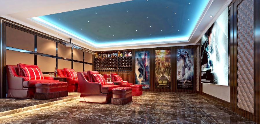 The 4 Keys to Exceptional Home Theater Design