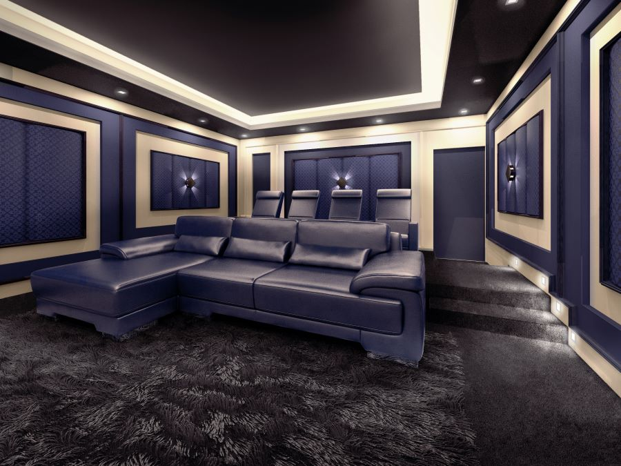 The Creation of a High-Quality, Custom-Designed Home Theater